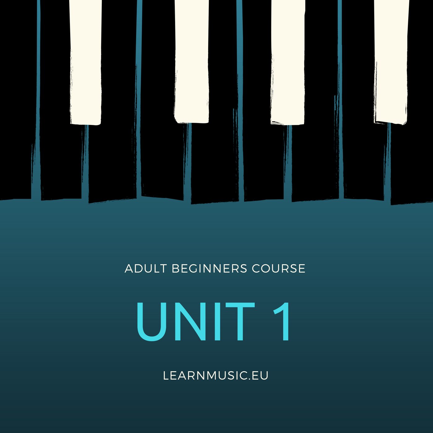 Piano Beginners Course – UNIT 1