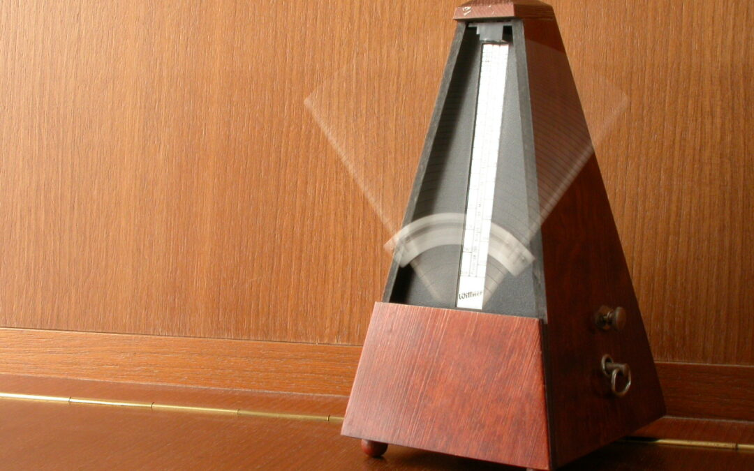 The metronome: a powerful ally for piano practice